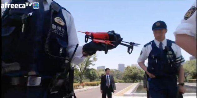 ドローン少年「ノエル」、逮捕される