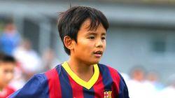 久保建英くん、FC東京の下部組織に入団 13歳、前バルセロナ