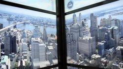 ワン・ワールドトレードセンターのエレベーターは、ニューヨークの歴史を早送りで再現する