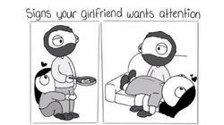 彼氏がベストフレンドだと、愛の形はこうなる(イラスト)