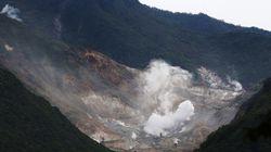 箱根山で震度2、火山性地震が相次ぐ 小規模噴火に警戒を