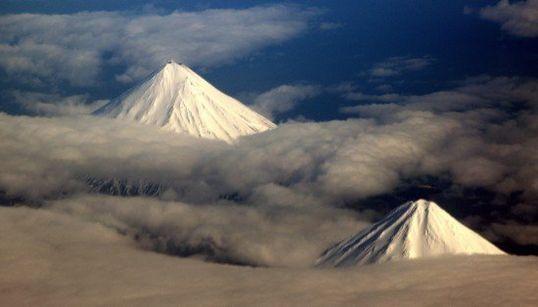 富士山が2つ?えっ!?(画像)