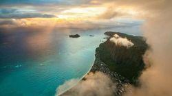 雲の高さからハワイを撮影してみたら想像以上の美しさだった(画像集)