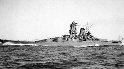 連合艦隊が、広島の山間部に現れた