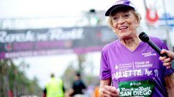 世界最高齢でフルマラソン完走した女性 76歳で走り始めたのには理由があった