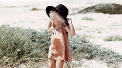 3歳の女の子、夏ワンピが真似したいほど可愛い(画像集)