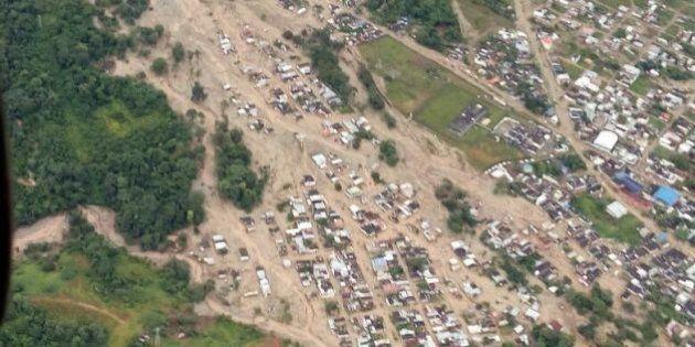 コロンビアで大規模な土砂崩れ、250人以上死亡 約400人が負傷【画像】
