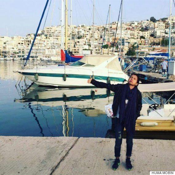 ギリシャに新婚旅行 風景めっちゃ美しいわ(ただし妻1人)