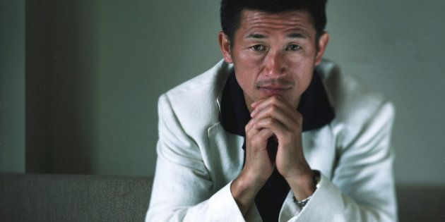 SYDNEY, AUSTRALIA - NOVEMBER 16: (SOCCER INTERNATIONAL MAGAZINE OUT) Kazuyoshi Miura of Japan and Sydney...