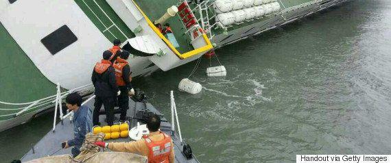 「セウォル号」船体引き揚げ始まる 295人死亡の事故から3年、まだ9人が行方不明