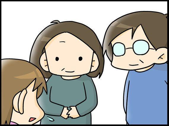 両親への告知-『息子は自閉症。ママのイラスト日記』(8)
