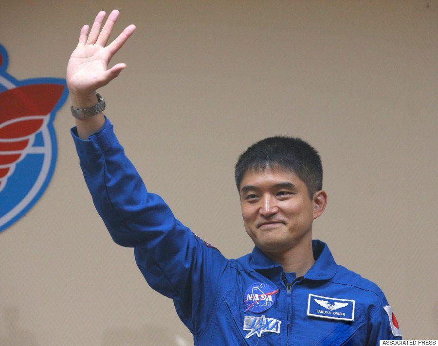 大西卓哉さん、七夕に夢かなえ宇宙へ ソユーズ打ち上げ成功(画像集)