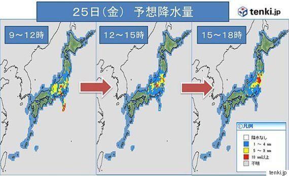 関東・東北は10月中旬~下旬並みの肌寒さに