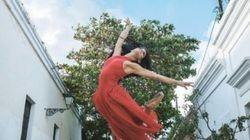プエルトリコの路上で心を振るわせるダンス バレエダンサーたちの躍動的な姿(画像集)