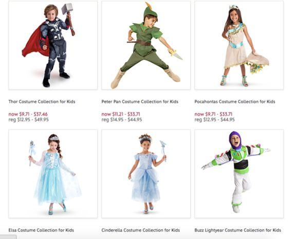 ディズニー、ハロウィン衣装の通販で「男の子用」「女の子用」の表示をなくす