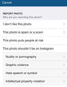 Instagram、ヌードと他人の投稿写真のシェア禁止を強化
