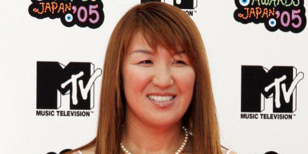 URAYASU, JAPAN - MAY 29: Akira Hokuto arrives for the MTV Video Music Awards Japan 2005 on May 29, 2005...