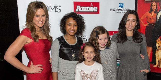 NEW YORK, NY - DECEMBER 16: (L-R) Denise Albert, Eden Duncan-Smith, Nicolette Pierini, Zoe Margaret Colletti...