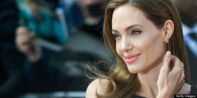 LONDON, UNITED KINGDOM - JUNE 02:  Angelina Jolie attends the world premiere of 'World War Z' at The Empire Cinema on June 2, 2013 in London, England. (Photo by Samir Hussein/WireImage)