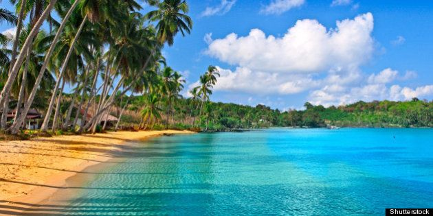 paradise nature sea water