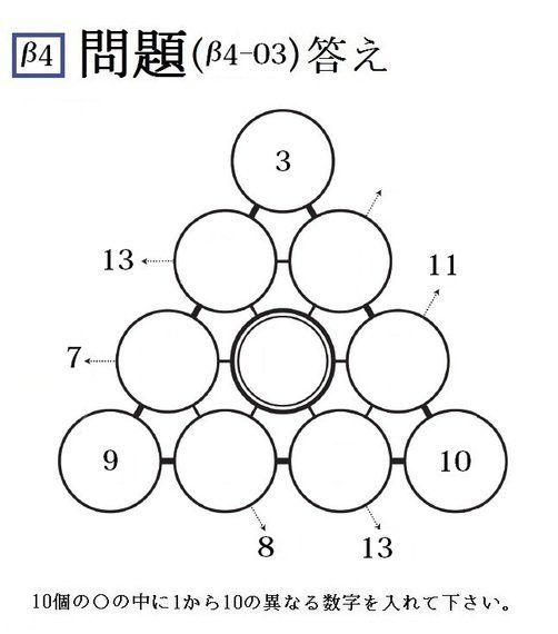 三角パズルに挑戦! 第25回(2015年第3回)