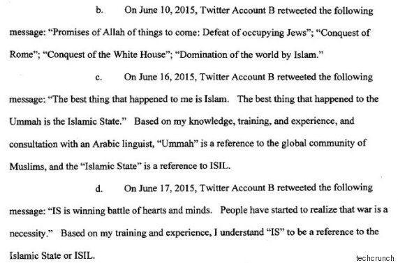 注意:ISISツイートをリツイートすると、FBIがやってくるかもしれない