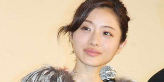 TOKYO, JAPAN - August 14:Actress Satomi Ishihara is seen during the promotion of the movie 'Attack on...