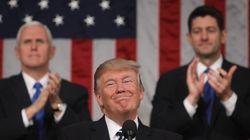 トランプ大統領、初の施政方針演説 議事堂では何が起こっていたのか