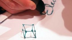 立体を描ける3Dペン「3Doodler」に重さ半分の新モデル、一般的なマーカーほどのサイズに