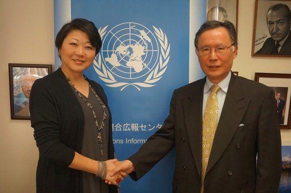 「日本人元職員が語る国連の舞台裏」 ~日本の国連加盟60周年特別企画~