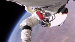 成層圏からの驚異のフリーフォール、最新ビデオを公開