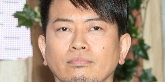 TOKYO, JAPAN - JUNE 6:Comedian Hiroyuki Miyasako of Ameagari Kesshitai attends the Fuji TV press conference...