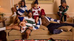 ゲイのパパと4人の子供たち。有名ファッションブランドのモデルに抜擢