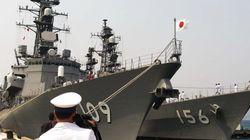 海自護衛艦「カムラン湾寄港」の読み方