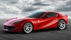 フェラーリ、12気筒ベルリネッタの進化形「812