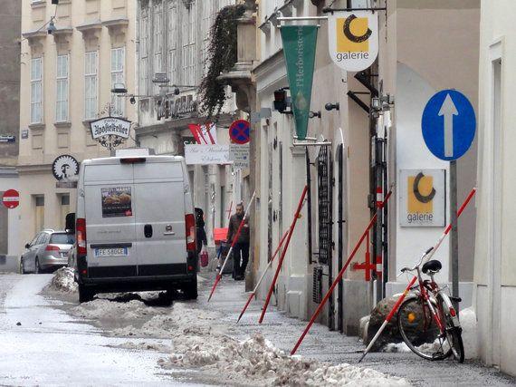 ウィーンの街に突如現れた謎の物体とは
