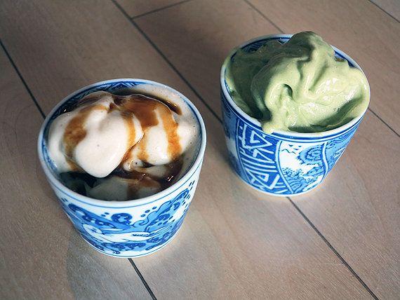 食材ひとつでできるアイスクリーム! さて、その食材とは?
