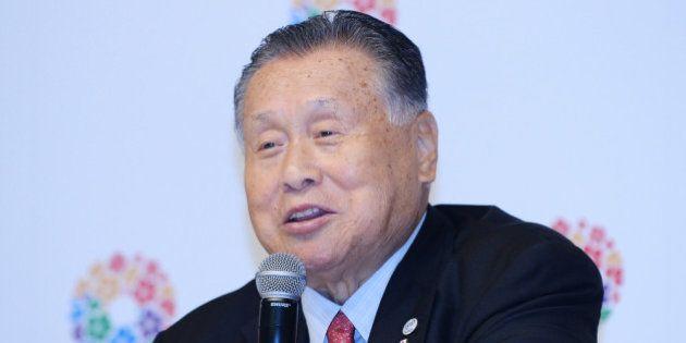 TOKYO, JAPAN - SEPTEMBER 10: Former Japanese Prime Minister Yoshiro Mori talks to the media during Tokyo...