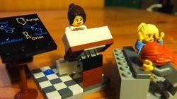 レゴで女性科学者のワーク・ライフ・バランスを表現してみたら【画像】