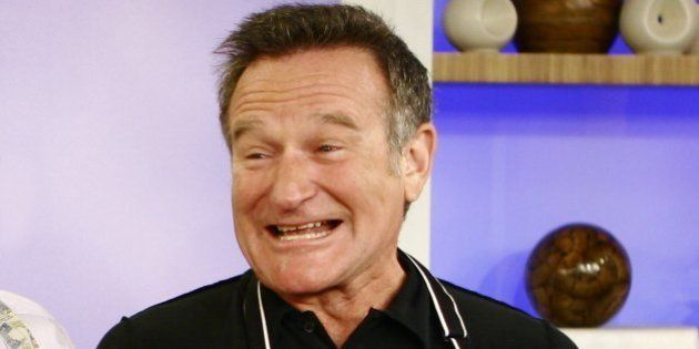 TODAY -- Pictured: Actor Robin Williams cooks in the kitchen on NBC News' 'Today' on November 14, 2007...