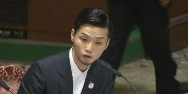 【安保法案】SEALDs・奥田愛基さん中央公聴会に