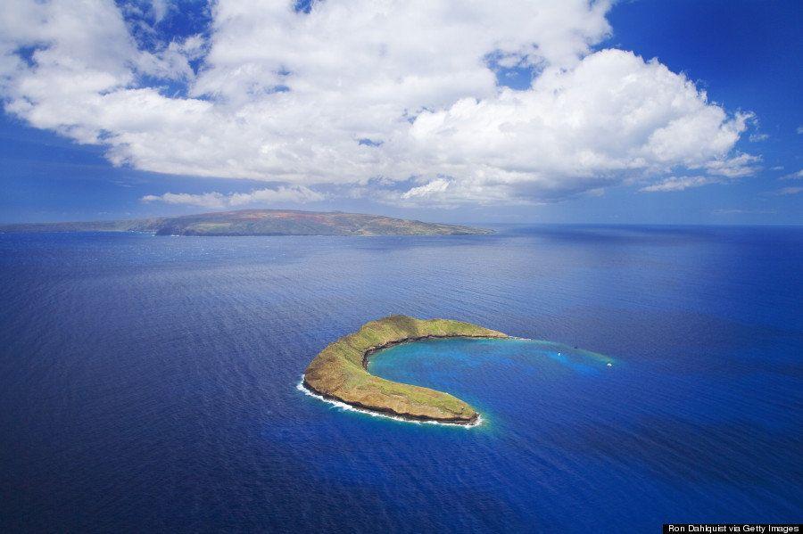 ハワイ・モロキニ島は、夢が叶う島