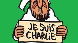 「シャルリー・エブド」最新号、表紙は「私はシャルリー」のサインを掲げたムハンマド(画像)