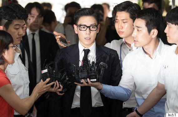 「大麻吸引疑惑」BIGBANGのT.O.P、義務警察から強制転属