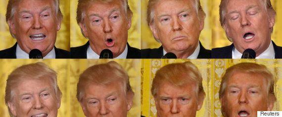 「TIME」の表紙が攻めすぎ トランプ大統領に吹き荒れる嵐を表現(画像あり)