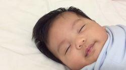赤ちゃんを一瞬で眠らせる方法がありました【動画】