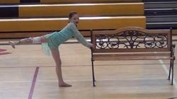 8歳の少女は踊った。ついに義足を外して。(画像)