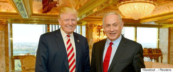 「イスラエルとパレスチナ、2国家共存にこだわらない」トランプ大統領、ネタニヤフ首相との会談で表明