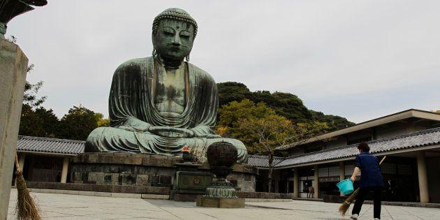 鎌倉大仏(2010年11月撮影)
