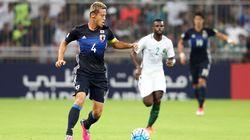 サッカー日本代表、サウジアラビアに敗れる W杯最終予選